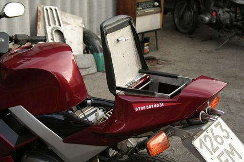 Бардачок на мотоцикл