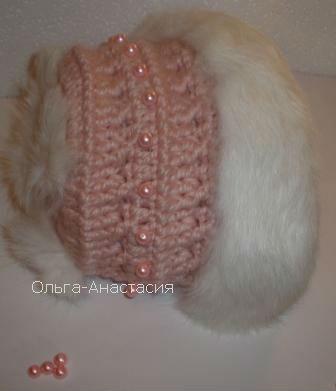 Схема вязания пальто с норкой