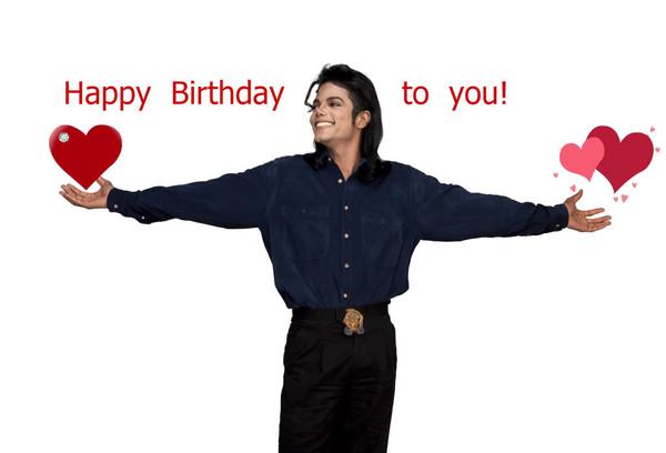 Рожа, майкл джексон с днем рождения открытка