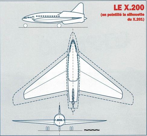 Большие самолеты Четвертой республики. SNCASE X.200 и X.201