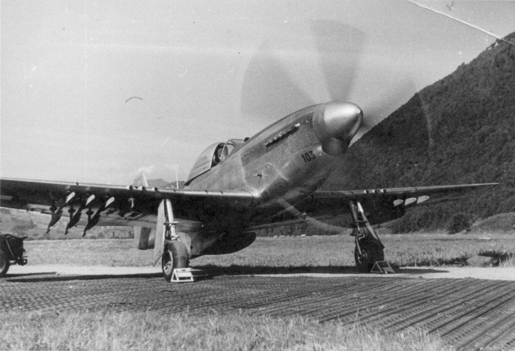 """Альпийская """"Дикая лошадь"""". NA P-51 Mustang в Швейцарии"""