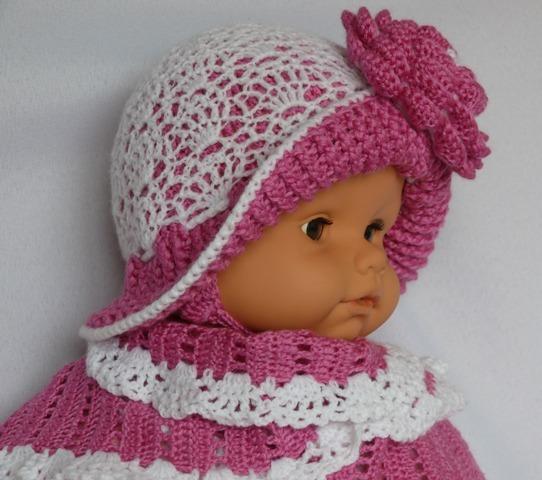 вязание детям летние шапочки