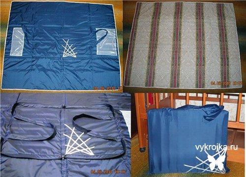 Выкройка сумки-коврика для пляжа МК ЗДЕСЬ http...
