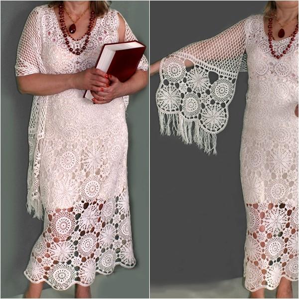 Выкройка платья крючком со схемами фото 993