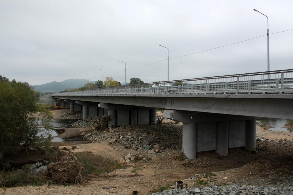 мост в Новолитовске