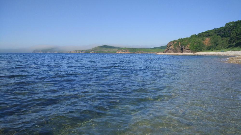 на острове Путятин