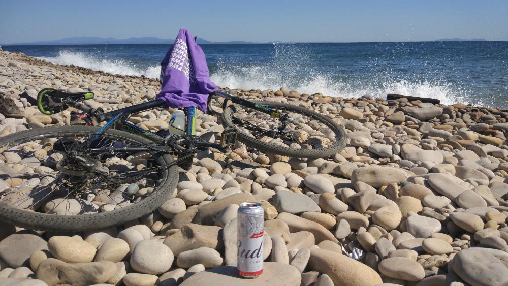 велосипед остров Русский