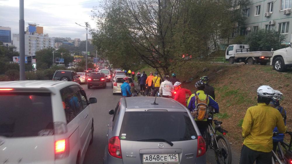 велосипед во Владивостоке