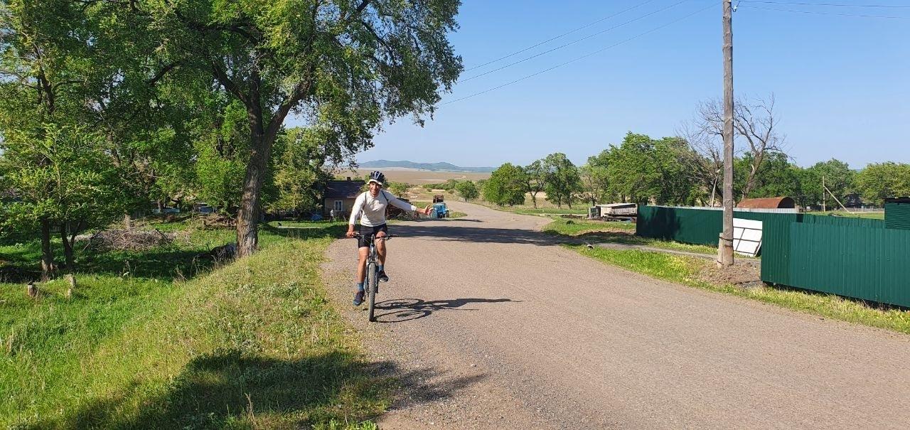 велосипед в Приморье