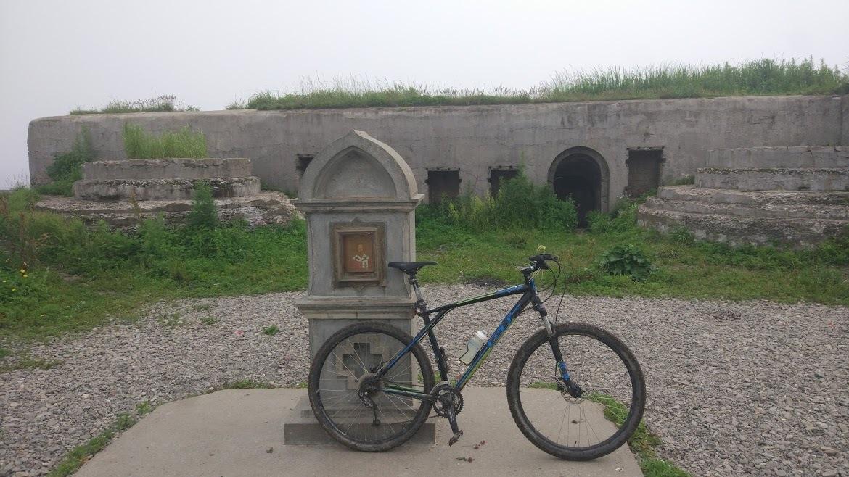 велосипед крепость