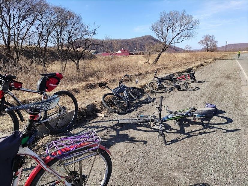 Велосипед из Шкотово