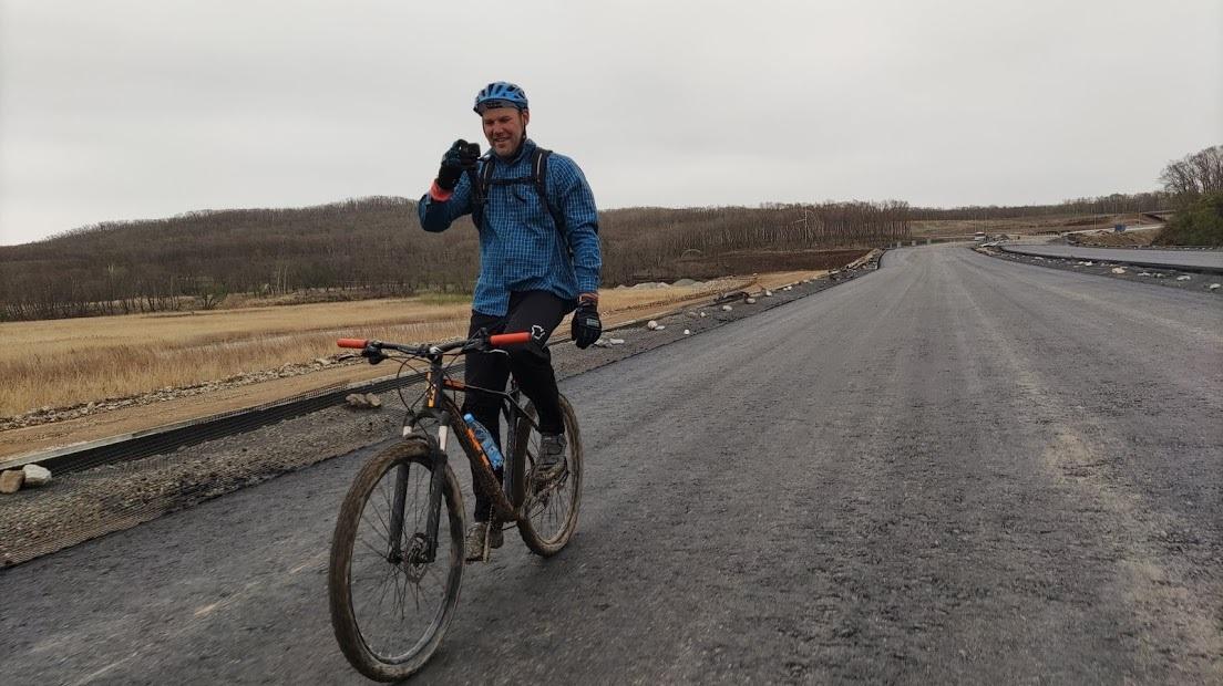 велосипед юг Приморья