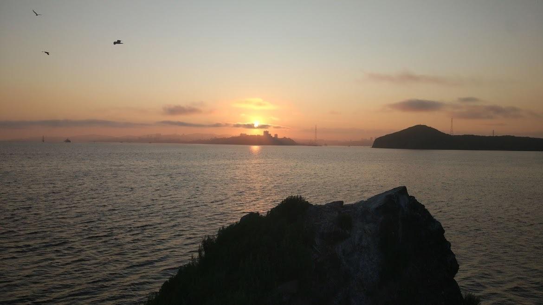 Владивосток с острова Уши