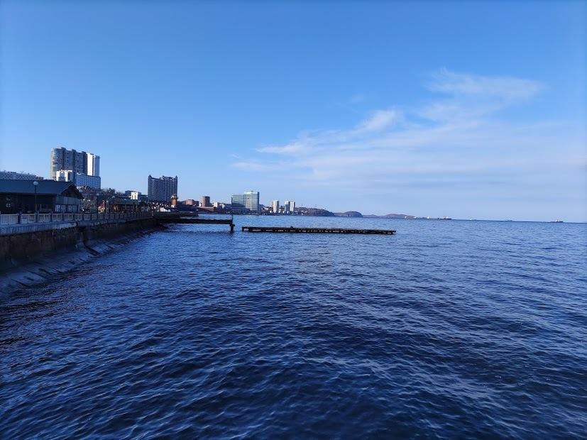 утренний Владивосток