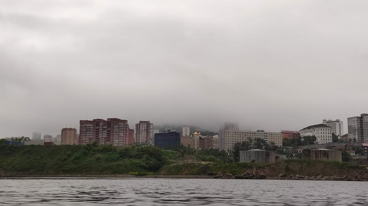 морской фасад Владивостока