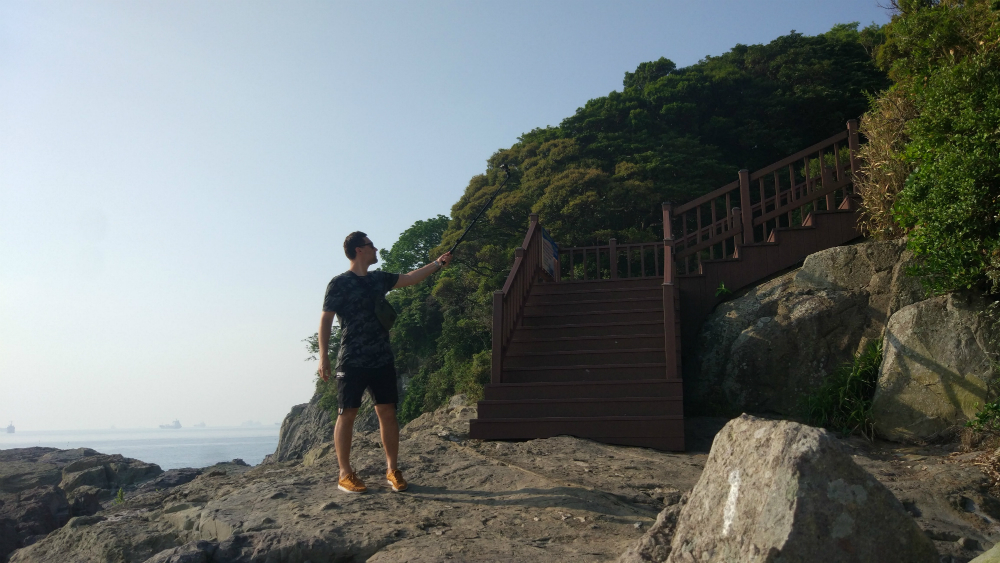остров Odongdo Island (오동도)