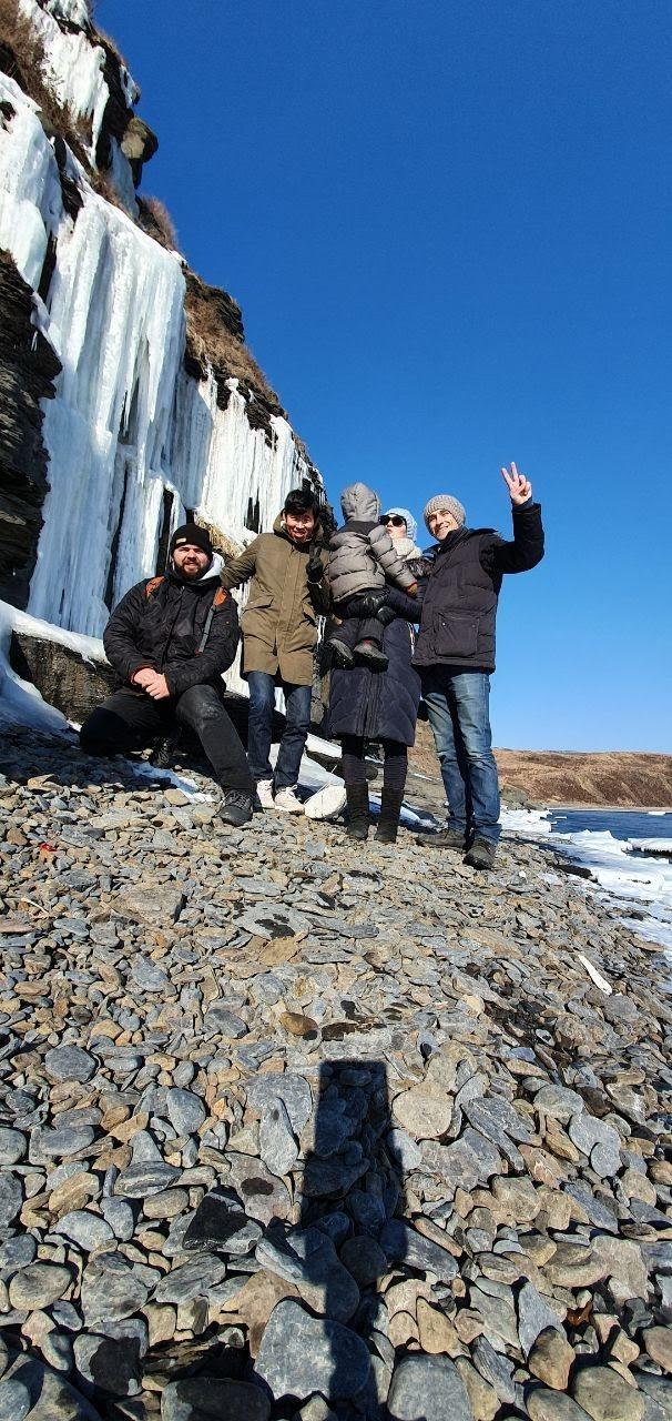 водопады на Русском