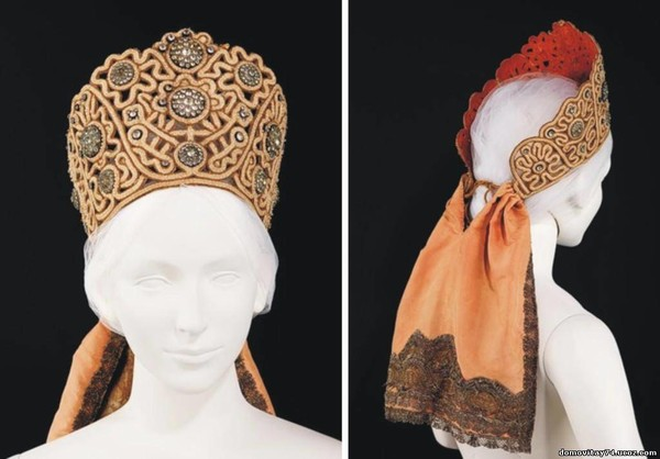 Женский славянский головной убор