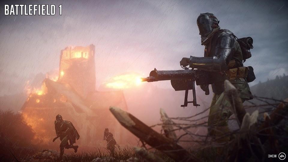 """""""Туман войны"""" в Battlefield 1"""