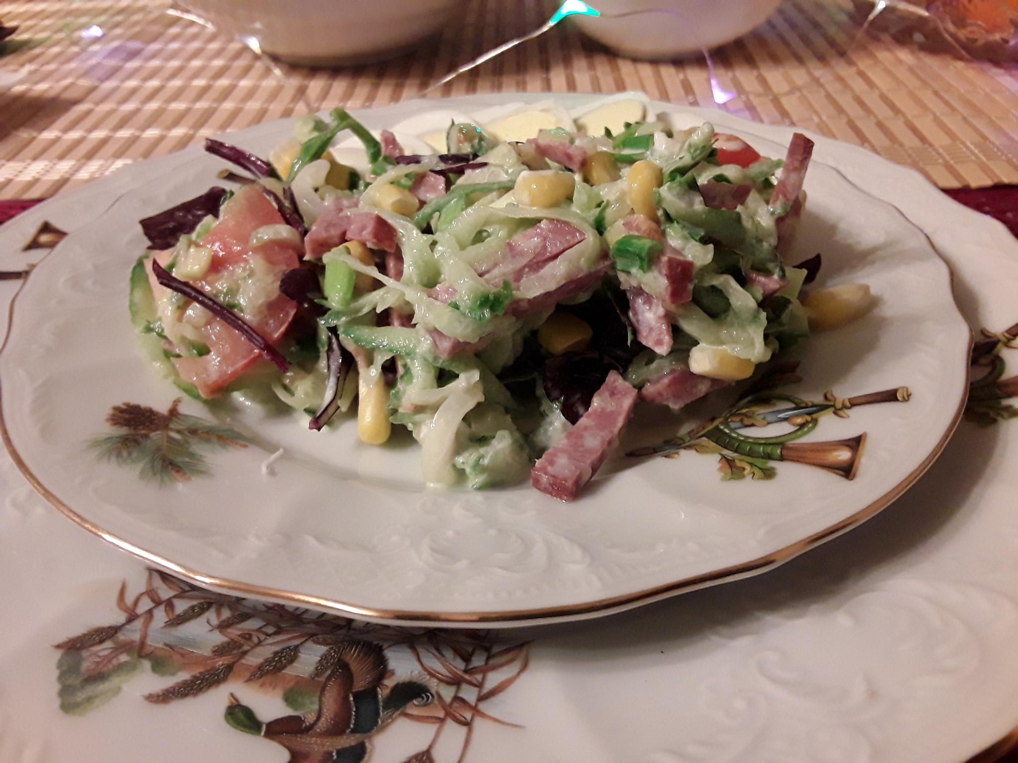 Салат оливье кавычки
