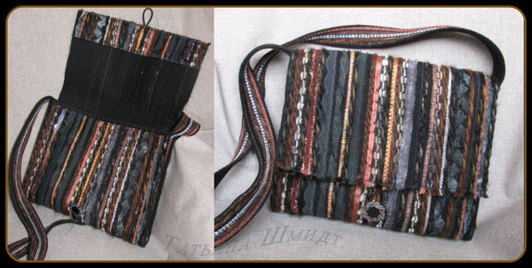 2420c905aee9 Как говорится ,сумочка никогда не бывает лишней.Вот и у меня появилась  очередная сумочка, похожа на тканную, но она лоскутная.Очень проста в  изготовлении, ...