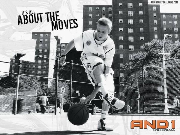 and1 уличный баскетбол:
