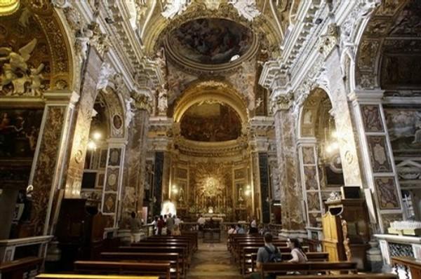 Церковь Санта-Мария-дель-Пополо (Santa Maria del Popolo). – Италия ...