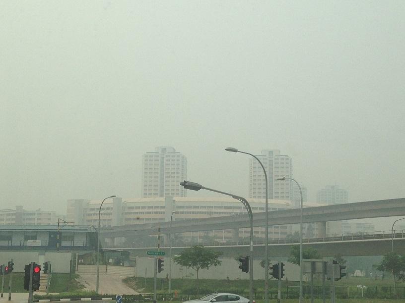 Внимание! Дымка в Сингапуре - опасно для здоровья!
