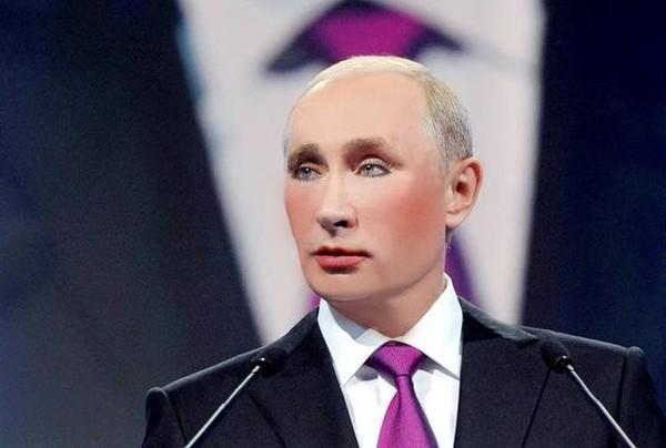 Владимир Путин, портрет