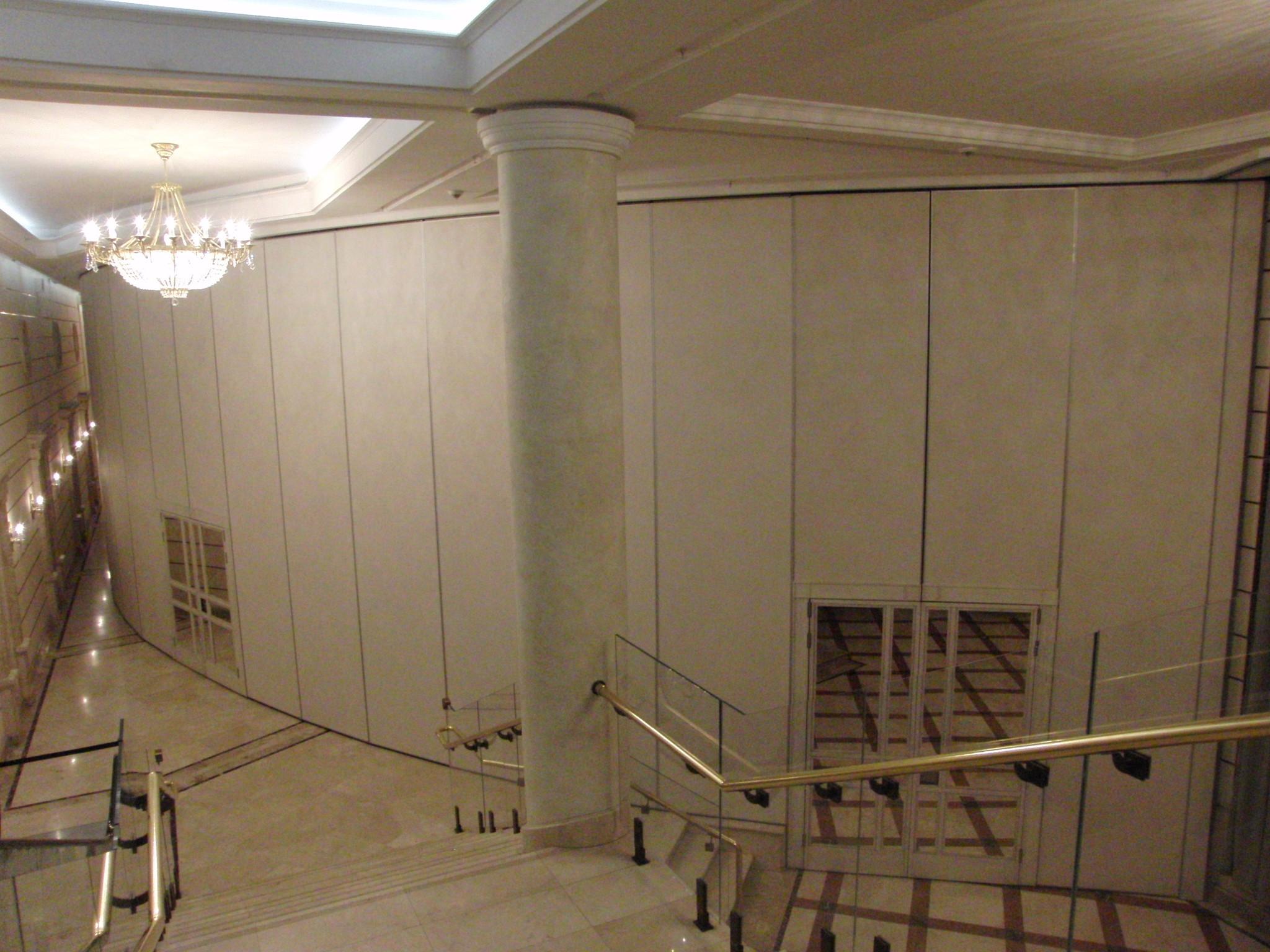 Внешняя стена Бетховенского зала.