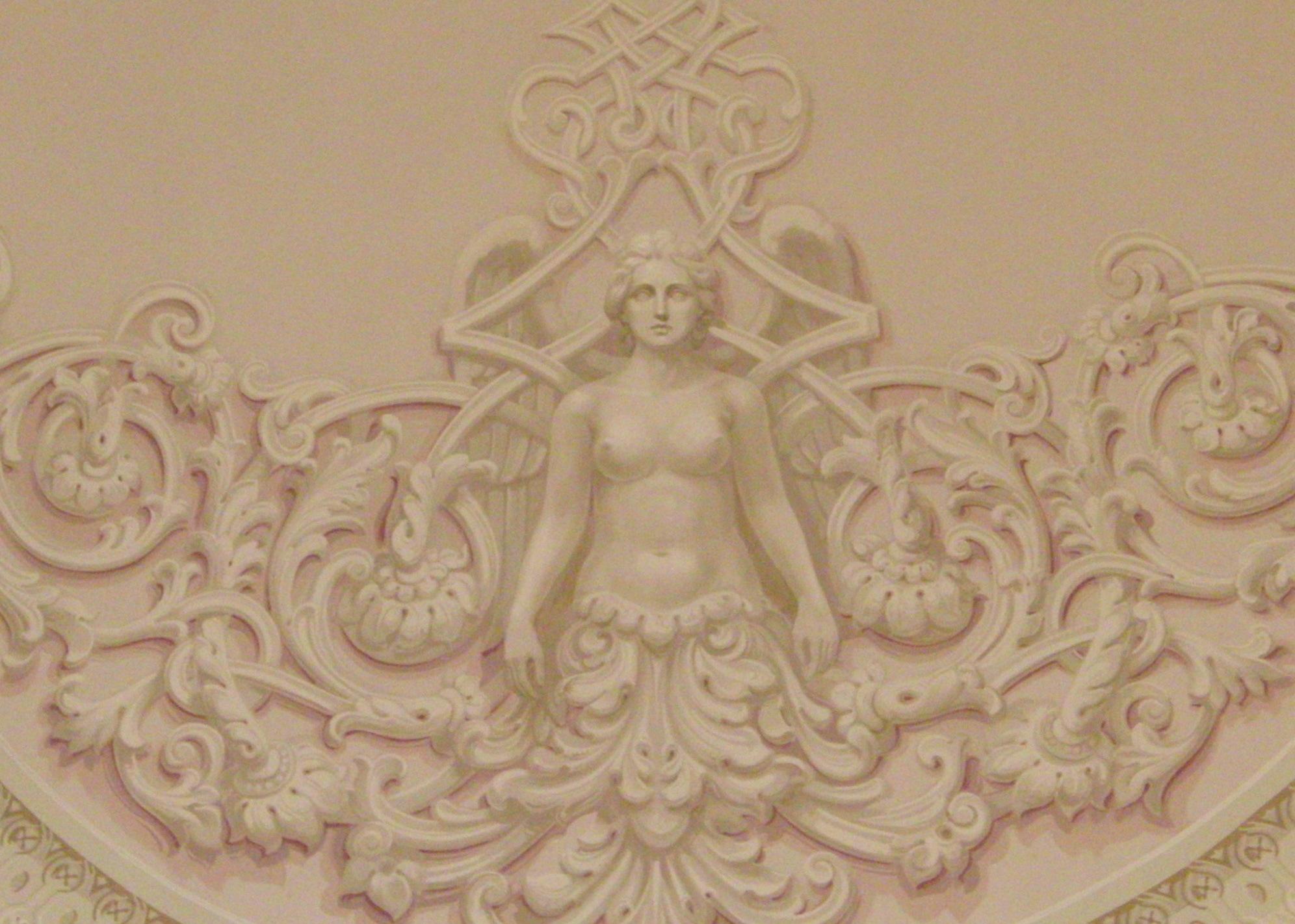 Фрагмент росписи в Главном фойе