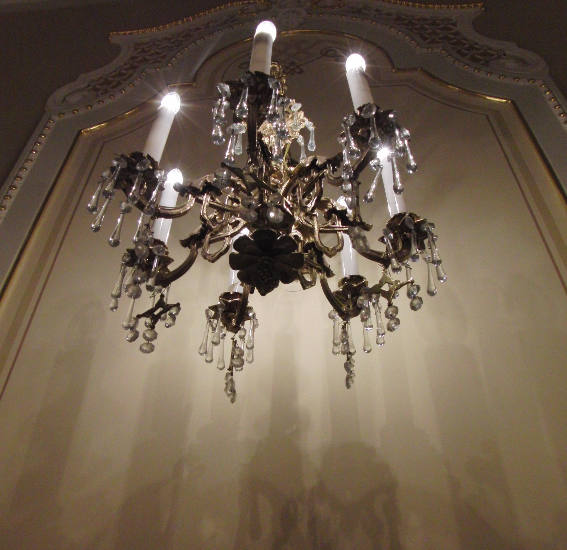 Свет и тени в хоровом зале