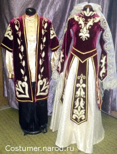 Батэрс: мужской национальный костюм народов кавказа.
