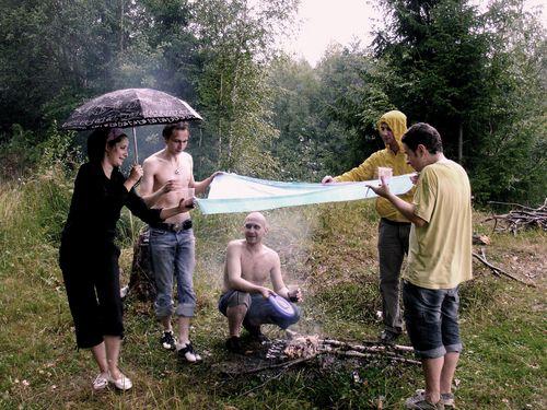 Картинка на шашлыки в плохую погоду