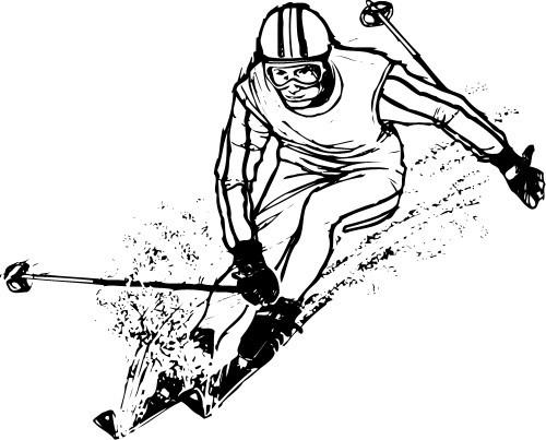 Картинки лыжников