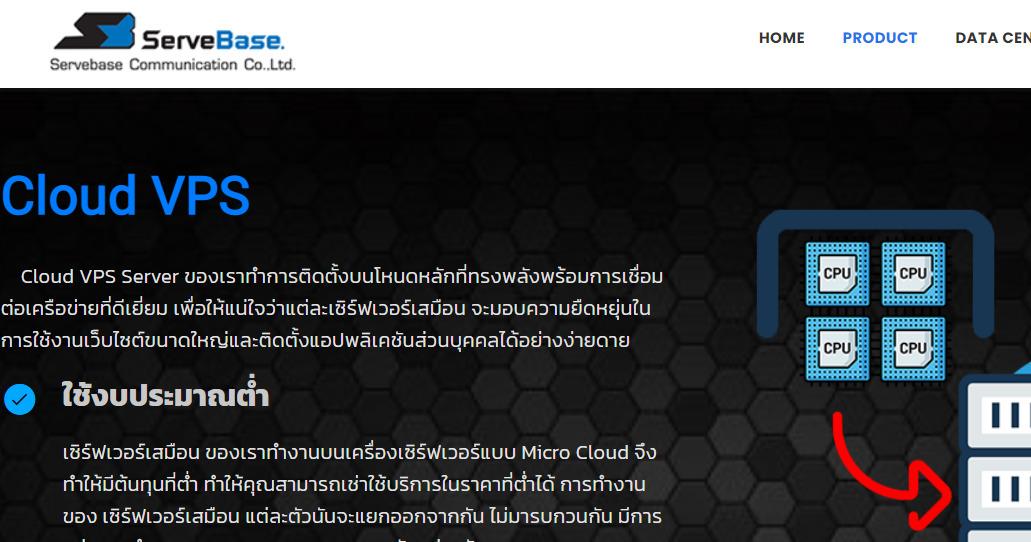 Servebase测评 – 1核/2G内存/20G硬盘/不限流量/100M带宽/XEN/泰国BGP线路/$9.99/月