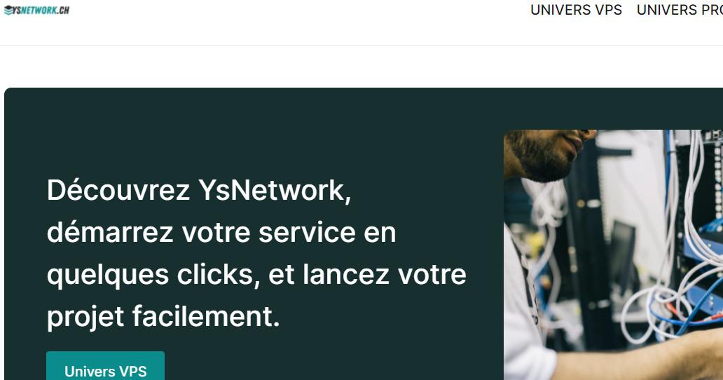 YsNetwork.ch测评 – 1核/1G内存/10G硬盘/不限流量/10G带宽/LXC/英国/€4.2/月