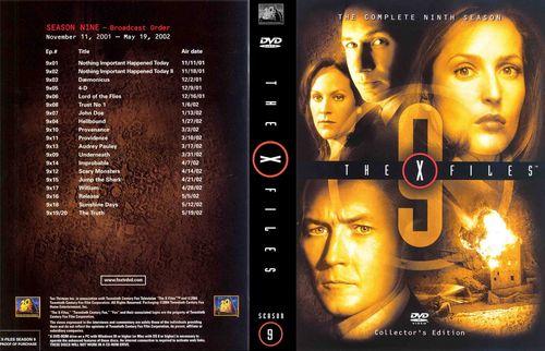 купить сериал Секретные материалы (X-Files) 9 сезонов + все бонусы 18 DVD