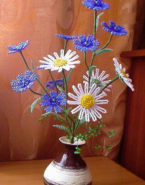 Полевые цветы своими руками фото 615