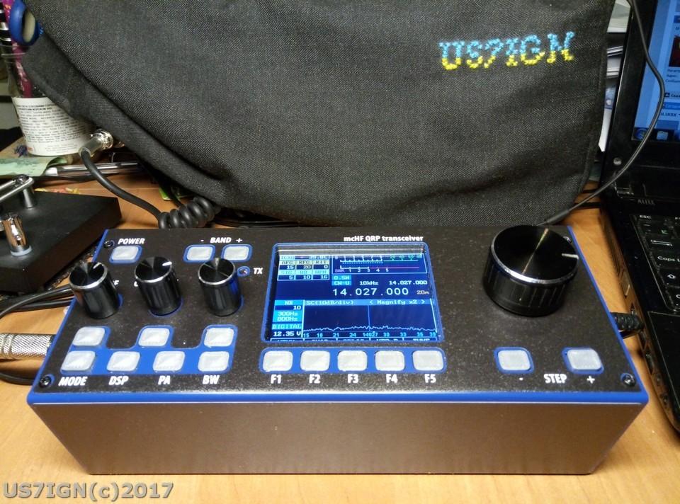 QRP SDR трансивер M0NKA mcHF | US7IGN