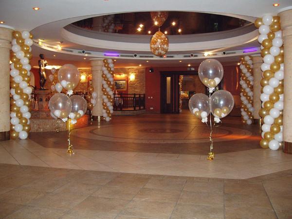 Оформление шарами различных мероприятий: * свадеб; * юбилеев; * детских...