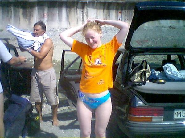 Лазаревское 2005. Вторая неделя.