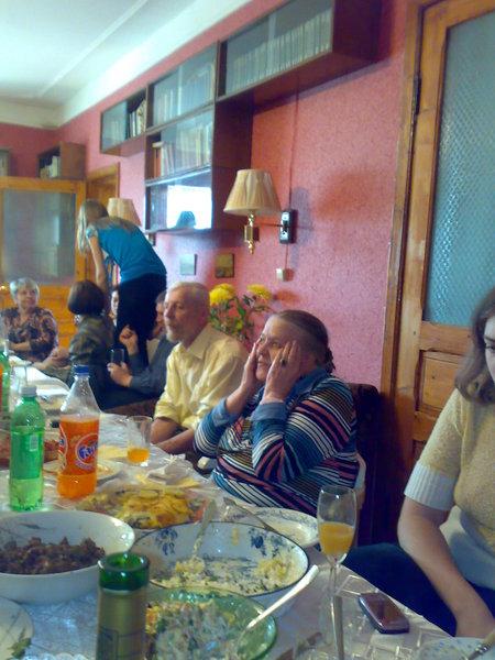 Верхнее Мячково, 9 мая 2009. Фоторепортаж о праздновании Дня Рождения Г.Л.Выгодской