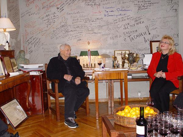 81 год трудового стажа - вечный труд души и духа