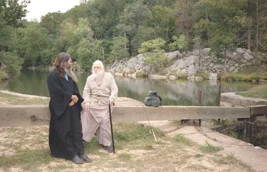отец Сергий с Преосвещенным епископом Василием (Родзянко)