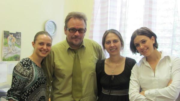 защита дипломных работ, выполненных на кафедре теории и истории психологии под руководством проф. В.Т.Кудрявцева:
