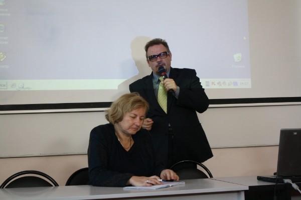 Ольга Конастантиновна Репина и Владимир Товиевич Кудрявцев