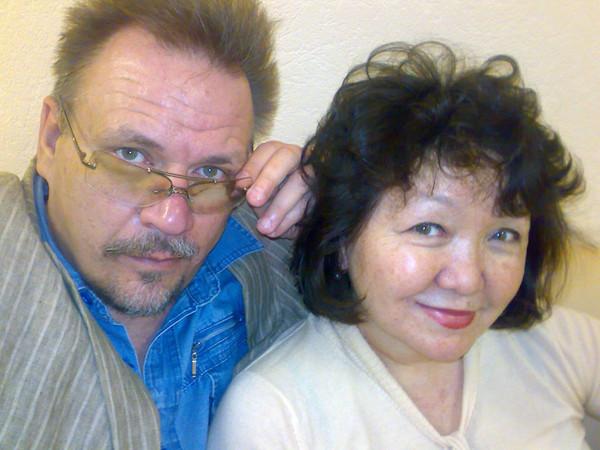 Мобилосессия Владимира Кудрявцева и Гульшат Уразалиевой