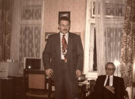 Владимир Кудрявцев. Десятилетие без Брушлинского (личное)