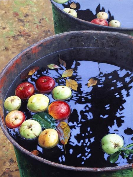 Добавить в Избранное: Ньютоновы яблоки художника